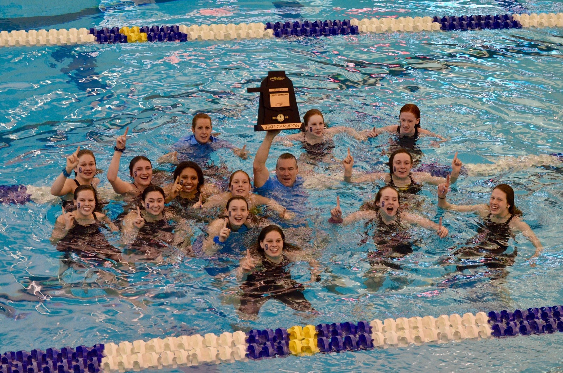 2019 State 6A Girls Swim Champions
