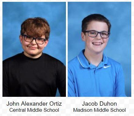 John Alexander Ortiz and Jacob Duhon