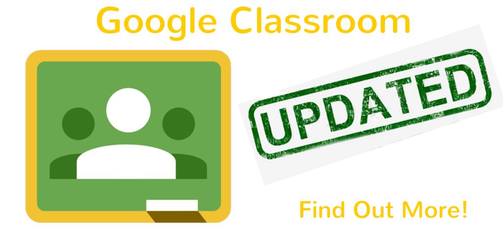 Classroom update