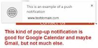 Sample Notification