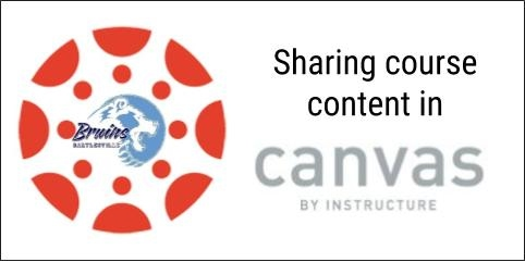 Sharing in Canvas