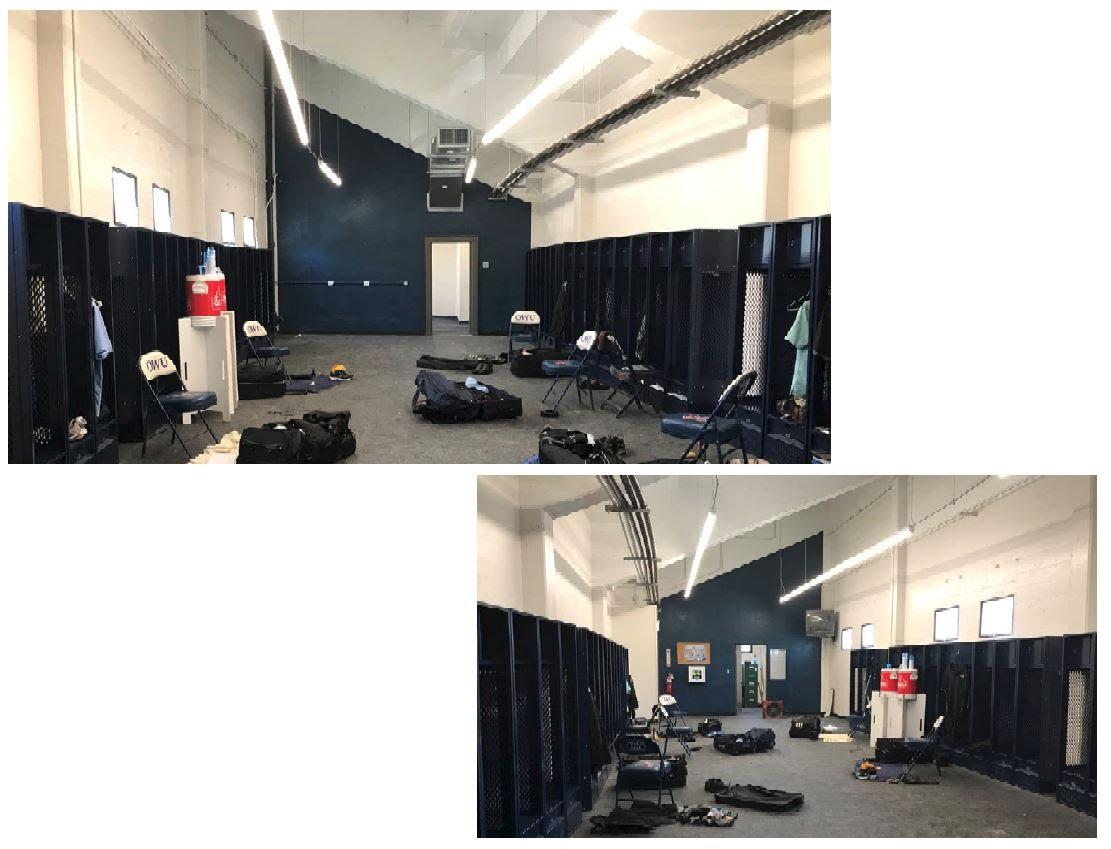 Doenges locker room