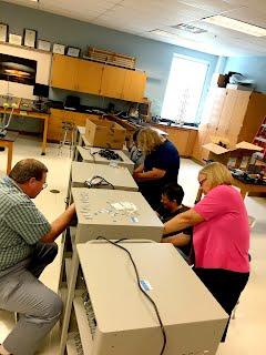 Teachers Wiring Chromebook Carts