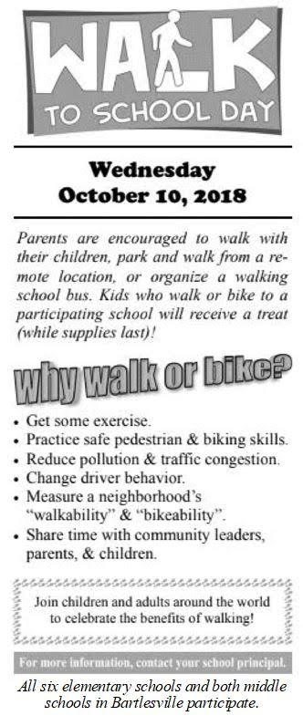 Walk to School Day Flyer