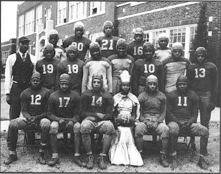 1941 Douglass Football Team & Queen