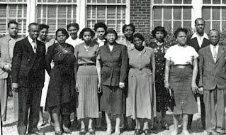 Douglass faculty in 1951