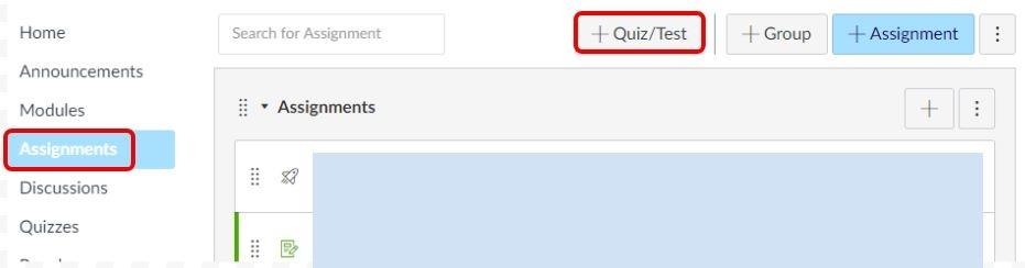 Quizzes LTI