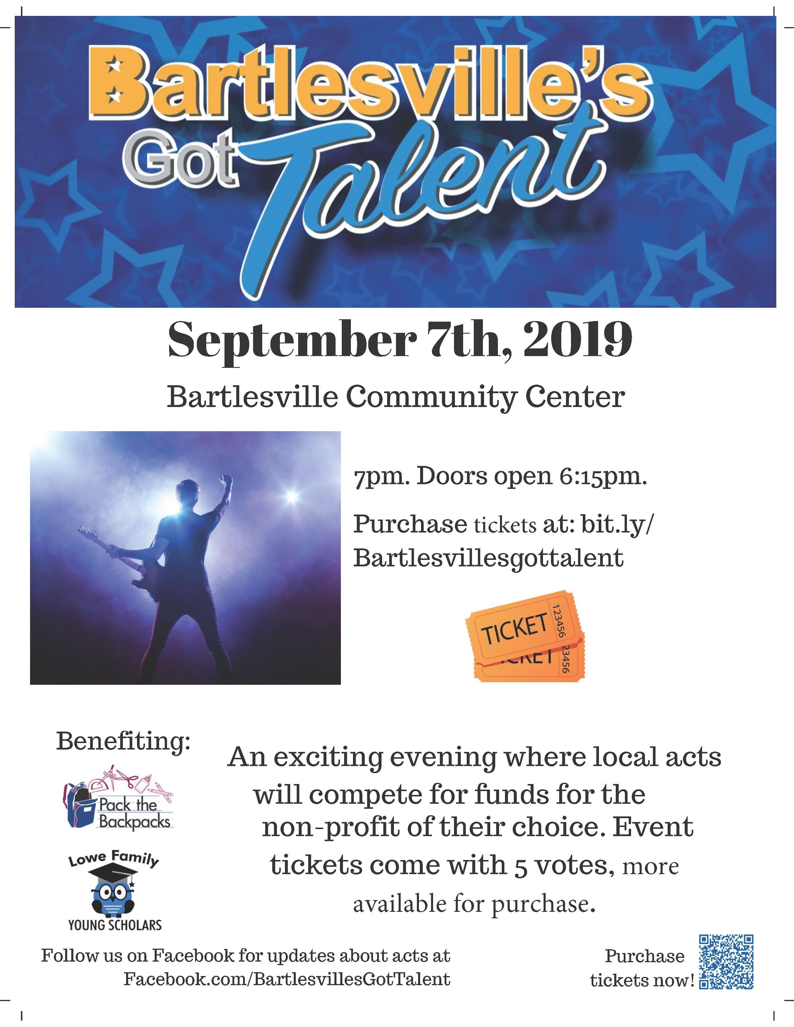 Bartlesville's Got Talent