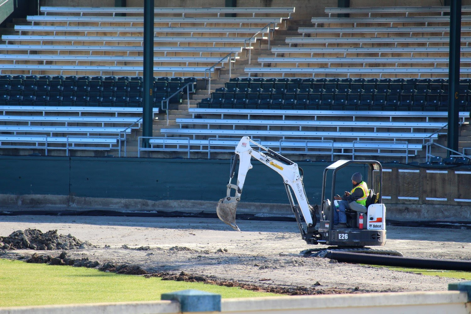 Infield removal