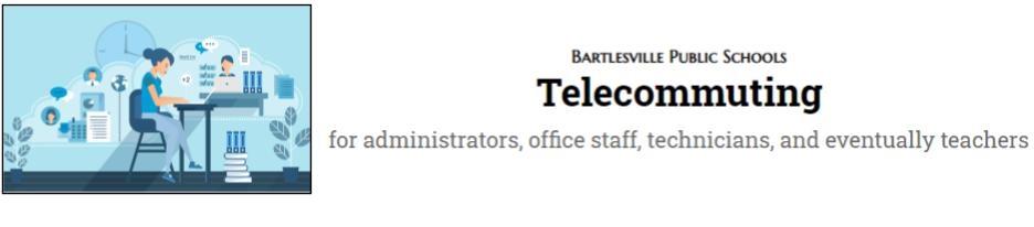 Telecommuting Guidance