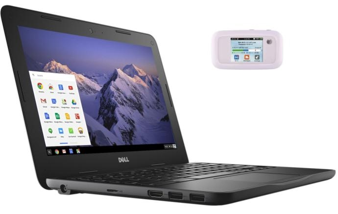 Chromebook and hotspot
