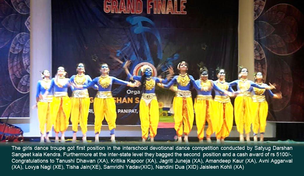 Interschool devotional dance competition