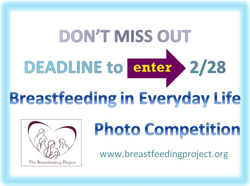 Breastfeeding in Everyday Life Photo Competition 2014