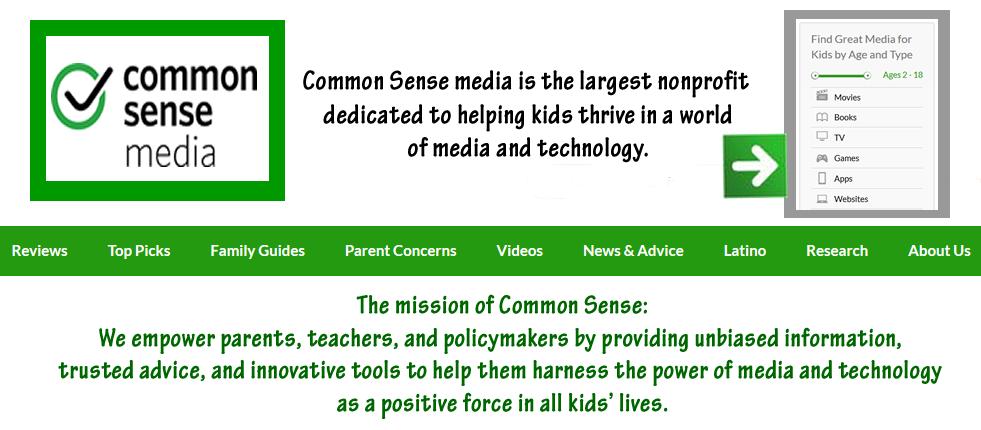 http://www.commonsensemedia.org