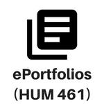 ePortfolios - HUM 461