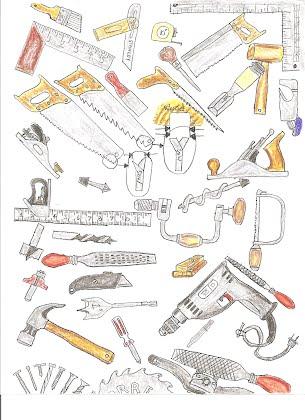 Woodworking Tools Color Illustration Rms Workshop Site
