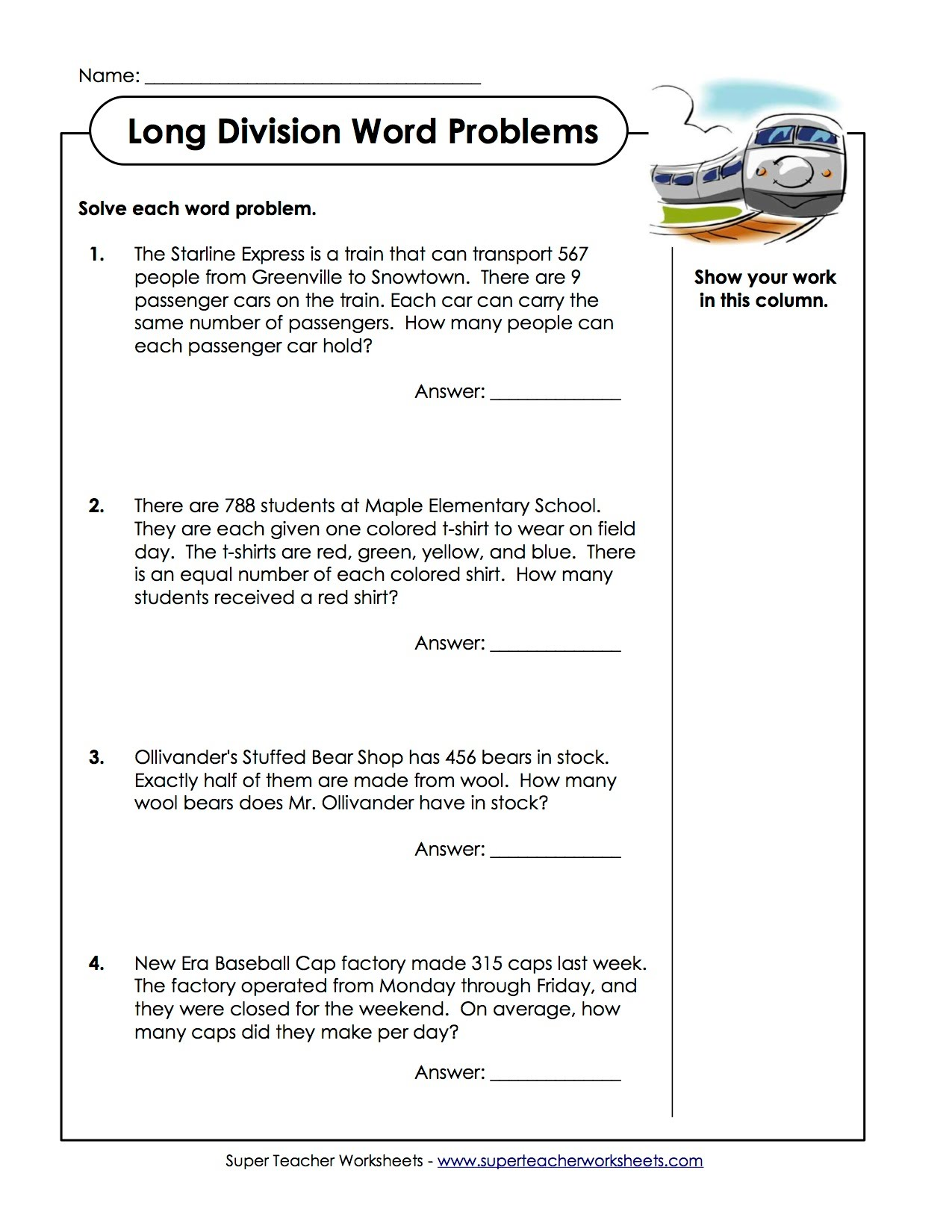 Worksheet. Word Work Problems. Wosenly Free Worksheet