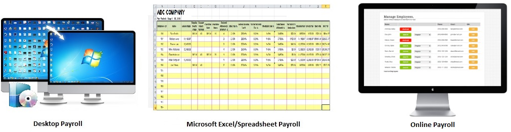 Payroll Comparision