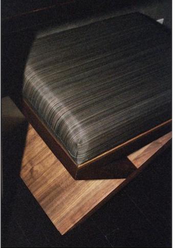 Brooklyn Workroom NY Custom Furniture  - Solid Walnut Stool