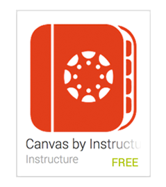 Canvas Android app