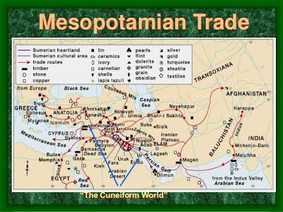 Trading system of mesopotamia