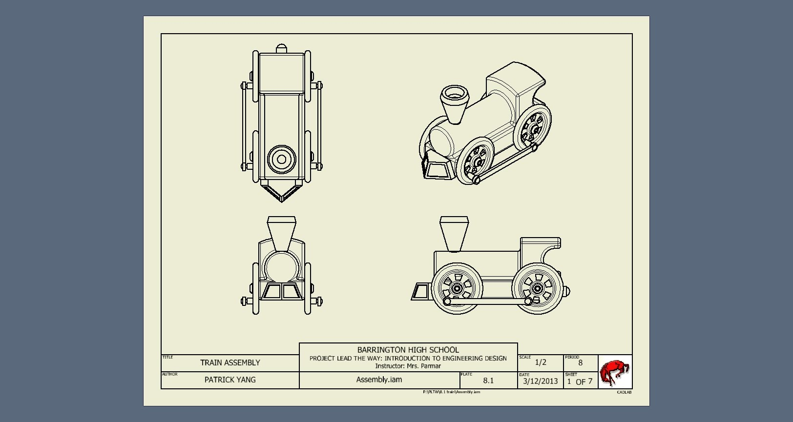3 Rendered Inventor Sheets Yang Ied 8 E Portfolio