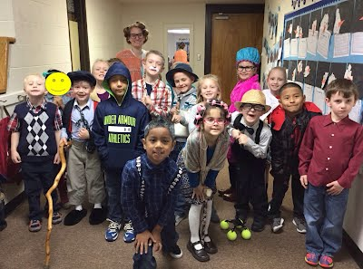Ms. Moody's First Grade Class is 100 years old!