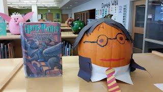 Examples of Book Pumpkins