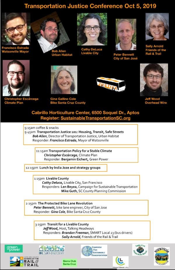 2019 Transportation Justice conference