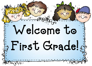 welcome banner welcome to first grade