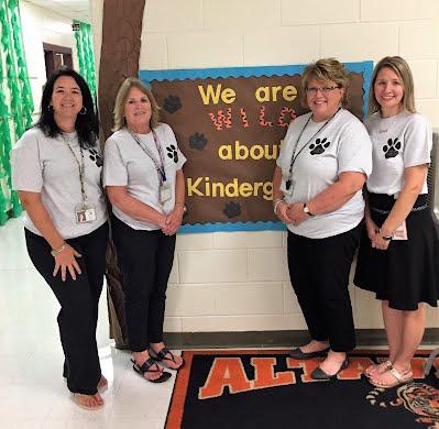 a photograph of kindergarten teachers