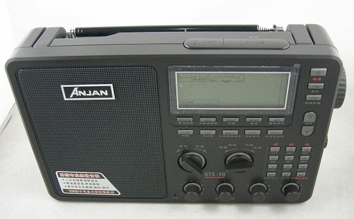 Anjan 10 DTS Digital FM / AM / Shortwave / SSB Mundial Banda Radio Receiver Manual en inglés