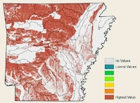 Soil Erosion, Concentrated Flow Map