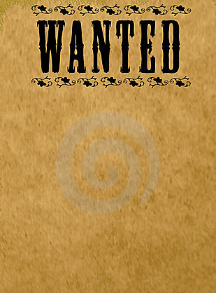 wanted poster template - Kardas.klmphotography.co