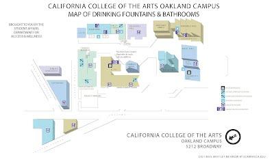 Cca Sf Campus Map.Oakland Campus Wellness