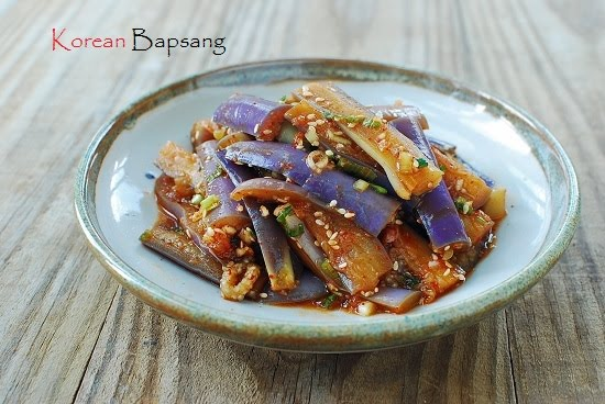 Gaji namul korean steamed eggplant wellness gaji namul korean steamed eggplant forumfinder Gallery