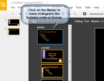 How Do I Edit A Slide Master In Google Presentation GoGoogle - Google presentation format