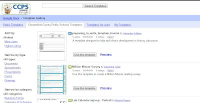 how do i find templates in google drive gogoogle