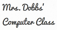 Mrs. Dobbs' Computer class logo