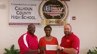 Hardee's Donation to CCHS
