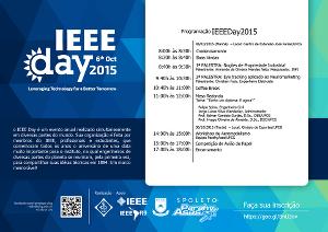 Programação do IEEE Day 2015