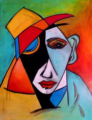 Arte abstracto plastica for Imagenes de cuadros abstractos faciles