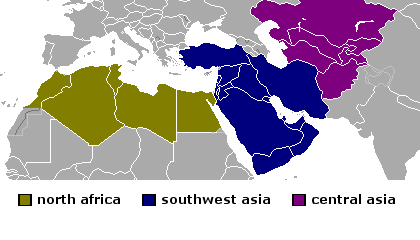 North Africa, Southwest Asia, Central Asia   Mr. Reams Room