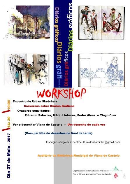 Workshop : Diários gráficos
