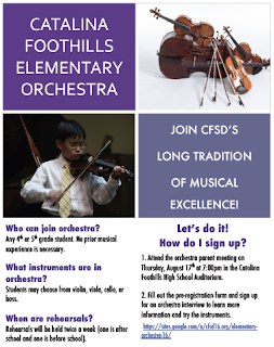 Orchestra Flyer Image
