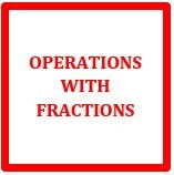 Math Help - Operations with Fractions