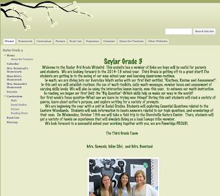 three 3rd grade teachers combined website