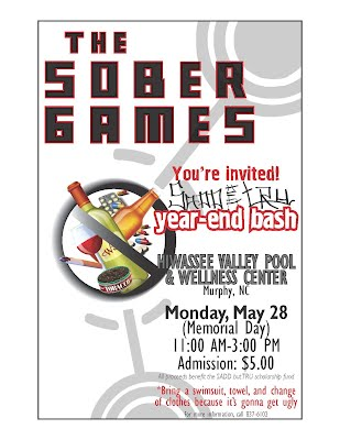 The Sober Games - 5.28.12 from 11AM-3PM @ the pool