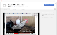 Death Metal Rooster extension screen shot