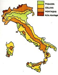 Cartina Italia Con Montagne Colline E Pianure.La Collina Lessons Tes Teach
